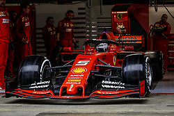 February 20, 2019 - Barcelona, Spain - VETTEL Sebastian (ger), Scuderia Ferrari SF90, action during Formula 1 winter tests from February 18 to 21, 2019 at Barcelona, Spain - Photo  /  Motorsports: FIA Formula One World Championship 2019, Test in Barcelona, (Credit Image: © Hoch Zwei via ZUMA Wire)