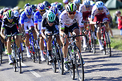 July 4, 2017 - Mondorf Les Bains / Vittel, Luxembourg / France - VITTEL, FRANCE - JULY 4 : CUMMINGS Stephen (GBR) Rider of Team Dimension Data in action during stage 4 of the 104th edition of the 2017 Tour de France cycling race, a stage of 207.5 kms between Mondorf-Les-Bains and Vittel on July 04, 2017 in Vittel, France, 4/07/2017 (Credit Image: © Panoramic via ZUMA Press)