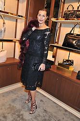 YASMIN LE BON at the Salvatore Ferragamo Old Bond Street Boutique Store Launch on 5th December 2012.