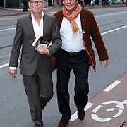 NLD/Amsteram/20121024- Presentatie biografie Joop van den Ende, Sjoerd Pleijsier en ????.