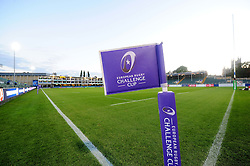 A general view of the Recreation Ground pitch - Mandatory byline: Patrick Khachfe/JMP - 07966 386802 - 20/10/2016 - RUGBY UNION - The Recreation Ground - Bath, England - Bath Rugby v Bristol Rugby - European Rugby Challenge Cup.