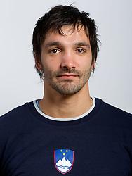 David Spiler during practice session of Slovenian Handball Men National Team, on November 4, 2011, in Zrece, Slovenia.  (Photo by Vid Ponikvar / Sportida)