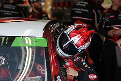September 29, 2018 - Charlotte, NC, U.S. - CHARLOTTE, NC - SEPTEMBER 29: #3: Austin Dillon, Richard Childress Racing, Chevrolet Camaro Dow getting int this car in the garages during the Monster Energy NASCAR Cup Series Playoff Race - Bank of America ROVAL 400 on September 29, 2018, at Charlotte Motor Speedway in Concord, NC. (Photo by Jaylynn Nash/Icon Sportswire) (Credit Image: © Jaylynn Nash/Icon SMI via ZUMA Press)