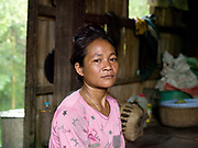 Neang Char, 32, is a mother-of-four living in Kbal Romeas village, in Steung Treng province in north-eastern Cambodia. The village lies deep in the forest on the Sesan River, and is home to around 130 families from the Bunong ethnic minority group. As well as feeling the impact of climate change on their traditional self-sufficient farming and fishing lifestyle, 5000 people from 20 villages in the area are being evicted from their homes to make way for a controversial huge new hydropower dam, 'Lower Sesan 2', which will flood an area of more than 33,000 square hectares.