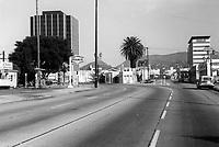 1972 Looking north on Cahuenga Blvd. towards Homewood Ave.
