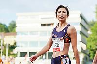 09.07.2019; Luzern; LEICHTATHLETIK - Spitzenleichtathletik Luzern, Ayako Kimura (JPN) 100m Huerden Frauen ; <br /> <br /> (Claudio Thoma/freshfocus)