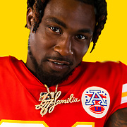 Kansas City Chief Anthony Hitchens (53) poses for photo on Monday, June 10, 2019 in Kansas City, MO.