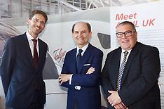 Spanish rail firm Talgo unveils UK factory site location, Edinburgh, 13 November 2018