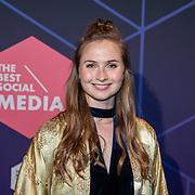 NLD/Amsterdam/20190613 - Inloop uitreiking De Beste Social Awards 2019, Julia Koopman