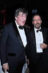 Left to right,  STEPHEN FRYand HUGH LAURIE at the GQ Men of the Year 2011 Awards dinner held at The Royal Opera House, Covent Garden, London on 6th September 2011.