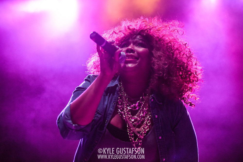 WASHINGTON, D.C. - February 24, 2015 - Lizzo opens for Sleater-Kinney at the 9:30 Club in Washington, D.C. (Photo by Kyle Gustafson)