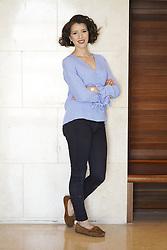 June 18, 2018 - Madrid, Spain - American operatic soprano Lisette Oropesa poses for a session at the Teatro Real de Madrid., Spain June 18, 2018  (Credit Image: © Oscar Gonzalez/NurPhoto via ZUMA Press)