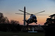 US President Donald J. Trump at Bethesda - 21 Dec 2017