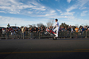 ACTION at the fifth-annual Oak Cliff Mardi Gras Parade on Sunday, February 10, 2013 in Dallas, Texas. (Cooper Neill/The Dallas Morning News)