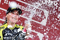 March 9, 2019 - Siena, Italy - ANNEMIEK VAN VLEUTEN of Netherlands wins Strade Bianche Women Elite during Strade Bianche 2019. (Credit Image: © Gian Mattia D'Alberto/Lapresse via ZUMA Press)