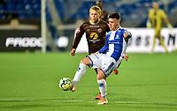 Fotball ,19. september 2020 , Eliteserien , Sarpsborg - Mjøndalen  <br /> Tobias Heintz , S08<br /> Dagur Thorhallsson , MIF