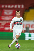 Football - 2020 / 2021 Champions League - Group D - Liverpool vs FC Midtjylland - Anfield<br /> <br /> Midtjylland's JOEL ANDERSSON in action during todays match  <br /> <br /> COLORSPORT/TERRY DONNELLY