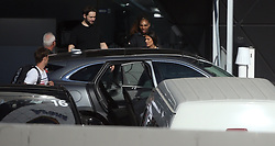 AU_1445183 - Perth, AUSTRALIA  -  *EXCLUSIVE*  - Serena Williams is seen leaving the RAC Arena with husband Alexis Ohanian in Perth, Western Australia<br /> <br /> Pictured: Serena Williams and husband Alexis Ohanian<br /> <br /> BACKGRID Australia 31 DECEMBER 2018 <br /> <br /> Phone: + 61 2 8719 0598<br /> Email:  photos@backgrid.com.au
