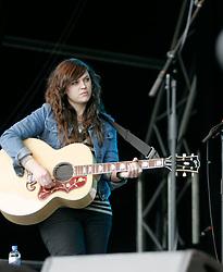 Amy MacDonald opens the Connect festival in Inveraray.<br /> ©Pic : Michael Schofield.