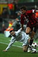 Milan 08-03-2005<br />Champions League 2004-2005<br />Milan Manchester United<br />nella  foto Maldini<br />Foto Snapshot / Graffiti