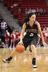04 January 2015:  Blair Stephenson during an NCAA MVC (Missouri Valley Conference) women's basketball game between the Southern Illinois Salukis and the Illinois Sate Redbirds at Redbird Arena in Normal IL