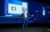 DEU, Deutschland, Germany, Berlin, 06.09.2019: Internationale Funkausstellung (IFA), Opening Keynote Richard (Chengdong) Yu, CEO HUAWEI Consumer Business Group.
