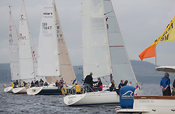 Caledonia MacBrayne Largs Regatta Week 2016<br /> <br /> Class 2 start with Vendaval<br /> <br /> Credit Marc Turner / PFM Pictures.co.uk