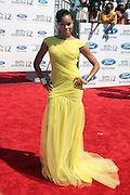 June 30, 2012-Los Angeles, CA : Recording Artist/ Actress LeToya Luckett attend the 2012 BET Awards held at the Shrine Auditorium on July 1, 2012 in Los Angeles. The BET Awards were established in 2001 by the Black Entertainment Television network to celebrate African Americans and other minorities in music, acting, sports, and other fields of entertainment over the past year. The awards are presented annually, and they are broadcast live on BET. (Photo by Terrence Jennings)