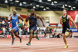 Don Kirby Invitational Indoor Track & Field<br /> Albuquerque, NM, Feb 14, 2020<br /> mens 60m final, CPTC, NB