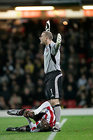 Photo: Marc Atkins.<br /> <br /> Watford v Sheffield United. The Barclays Premiership. 28/11/2006.