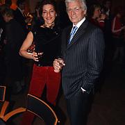 Harpengala 2003, Ben Cramer en vrouw Carla van der Waal