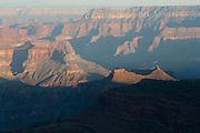 Sunrise view of Grand Canyon from the North Rim, Point Sublime