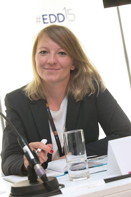 03 June 2015 - Belgium - Brussels - European Development Days - EDD - Health - Pills , pricing and profitability - Anja Kopyra , Desk Officer , Federal Ministry for Economic Cooperation and Development , Germany (BMZ) © European Union