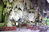 Night club in a cave near Vinales, Pinar del Rio, Cuba.