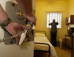 "File photo dated 07/11/03 of a prison cell. A law to ensure prisons aim to achieve a ""decent and fair environment"" for inmates should be introduced by the next government, MPs have said."