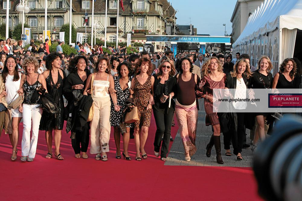 Les femmes en force sur le tapis rouge de Deauville - 33 ème festival du film américain de Deauville - 2/09/2007 - JSB / PixPlanete