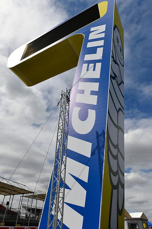Scoring pylon, atmosphere<br /> Friday 15 June 2018<br /> 24 Hours of Le Mans<br /> 2018 24 Hours of Le Mans<br /> Circuit de la Sarthe WI FR<br /> World Copyright: Scott R LePage