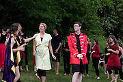 """Performance of """"Romeo and Juliet"""" by the Chelsea Funnery in Tunbridge, Vt., on July 25, 2015. (Photo by Geoff Hansen)"""