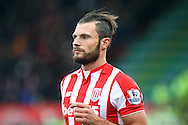 Eric Pieters of Stoke City looks on. Barclays Premier league match, Stoke city v Manchester city at the Britannia Stadium in Stoke on Trent, Staffs on Saturday 5th December 2015.<br /> pic by Chris Stading, Andrew Orchard sports photography.