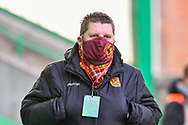 Motherwell FC Chief Executive Officer, Alan Burrows before the SPFL Premiership match between Hibernian FC and Motherwell FC at Easter Road, Edinburgh, Scotland on 27 February 2021.