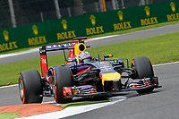 VETTEL Sebastian (Ger) Red Bull Renault Rb10 action  during the 2014 Formula One World Championship, Italy Grand Prix from September 5th to 7th 2014 in Monza, Italy. Photo Eric Vargiolu / DPPI