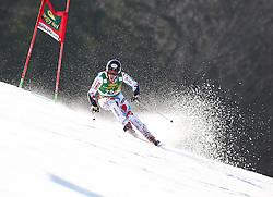 MUFFATJEANDETVictor of France competes during 10th Men's Slalom - Pokal Vitranc 2014 of FIS Alpine Ski World Cup 2013/2014, on March 8, 2014 in Vitranc, Kranjska Gora, Slovenia. Photo by Matic Klansek Velej / Sportida