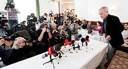 04 .11.2017, Cafe Landtmann, Wien, AUT, Persönliche Erklärung von Peter Pilz zu den Anschuldigungen der sexuellen Belästigung, im Bild Peter Pilz // during statement of Peter Pilz, former member of the green party, due to the accusations of sexual harassment in Vienna, Austria on 2017/11/04, EXPA Pictures © 2017, PhotoCredit: EXPA/ Michael Gruber