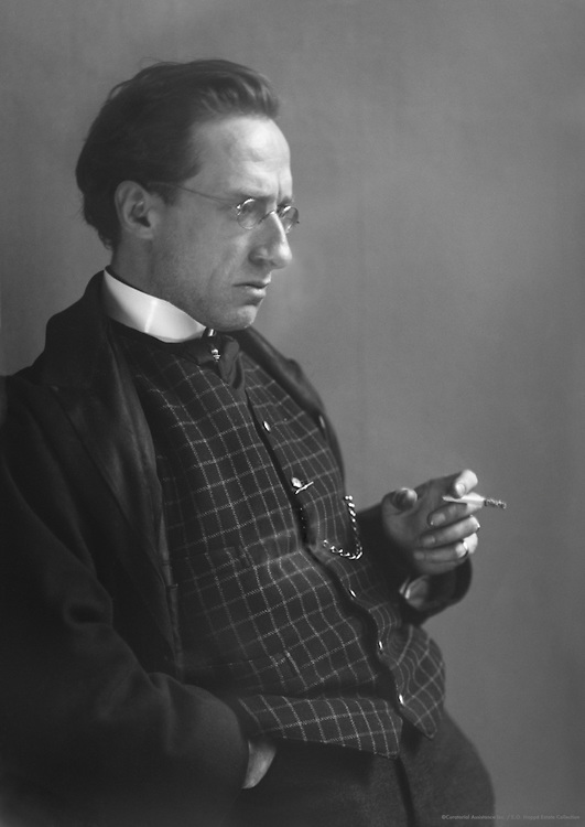 Joseph Holbrooke, English composer, conductor and pianist, 1912