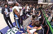 DESCRIZIONE : Campionato 2014/15 Serie A Beko Dinamo Banco di Sardegna Sassari - Upea Capo D'Orlando<br /> GIOCATORE : Giulio Griccioli<br /> CATEGORIA : Allenatore Coach Time Out<br /> SQUADRA : Upea Capo D'Orlando<br /> EVENTO : LegaBasket Serie A Beko 2014/2015<br /> GARA : Dinamo Banco di Sardegna Sassari - Upea Capo D'Orlando<br /> DATA : 22/03/2015<br /> SPORT : Pallacanestro <br /> AUTORE : Agenzia Ciamillo-Castoria/L.Canu<br /> Galleria : LegaBasket Serie A Beko 2014/2015