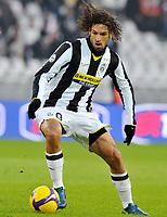 """Carvalho Amauri (Juventus)<br /> Torino 11/01/2009 Stadio """"Olimpico"""" <br /> Campionato Seria A Tim 2008/2009<br /> Juventus-Siena  (1-0)<br /> Foto Bigio Insidefoto"""