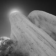 Mormon Rocks - Cajon Pass, CA (B/W)