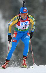 Vyacheslav Derkach (UKR) at Men 20 km Individual at E.ON Ruhrgas IBU World Cup Biathlon in Hochfilzen (replacement Pokljuka), on December 18, 2008, in Hochfilzen, Austria. (Photo by Vid Ponikvar / Sportida)