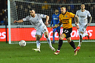 Jonathan Howson (16) of Middlesbrough during the The FA Cup match between Newport County and Middlesbrough at Rodney Parade, Newport, Wales on 5 February 2019.