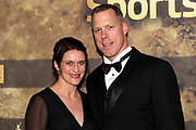 Matthias Sempach mit Ehefrau Heidi anlässlich der Verleihung der Sports Awards 2019.